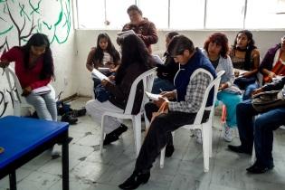 Colaboración con estudiantes de la Universidad Intercultural. Talleres de Periodismo DF. 2013
