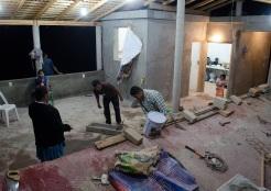 """Acondicionamiento del espacio comunitario """"Casa de los pueblos"""" en Cerro Zapote, San Luis Acatlán, Guerrero 2014."""