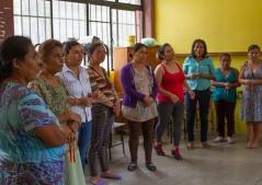 Semillero de mujeres; Cultivando nuestros saberes. Presentación en los talleres en la región Costa de Oaxaca 2017.