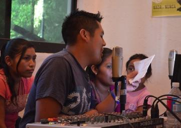 Talleres de Comunicación Comunitaria en Buena Vista Guerrero 2015.